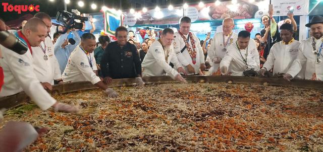 Khoảng 15.000 lượt khách tham dự Lễ hội ẩm thực quốc tế Đà Nẵng 2019 - Ảnh 1.