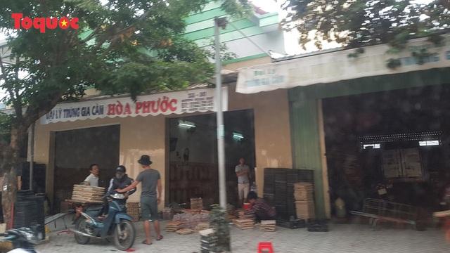 Nguy cơ ô nhiễm môi trường từ cơ sở kinh doanh trứng gia cầm giữa trung tâm Đà Nẵng - Ảnh 1.