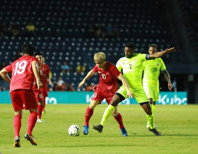 Trực tiếp: ĐT Việt Nam vs ĐT Curcao: Đấu súng gay cấn, Curacao giành ngôi vương Kings Cup 2019 - Ảnh 3.