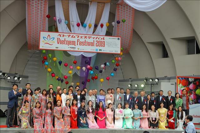 Khai mạc lễ hội Việt Nam tại Nhật Bản - Ảnh 1.