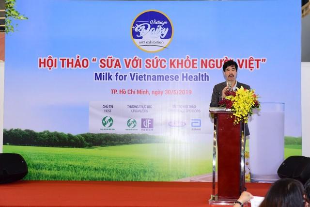 Hội thảo Sữa với sức khoẻ người Việt - Đi tìm lời giải cho thực trạng thiếu hụt vi chất ở trẻ - Ảnh 2.