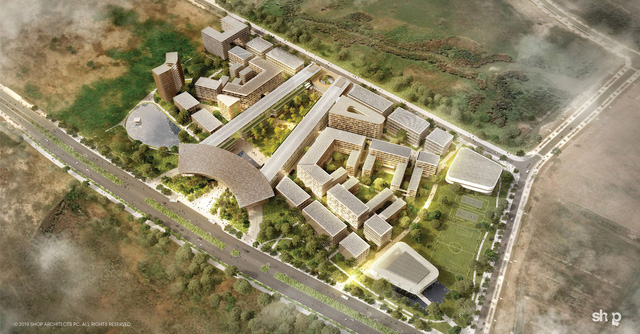 Công trình kiến trúc Đại học Fulbright Việt Nam được giới thiệu trên tạp chí Archdaily - Ảnh 4.
