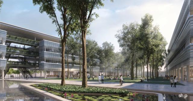 Công trình kiến trúc Đại học Fulbright Việt Nam được giới thiệu trên tạp chí Archdaily - Ảnh 3.