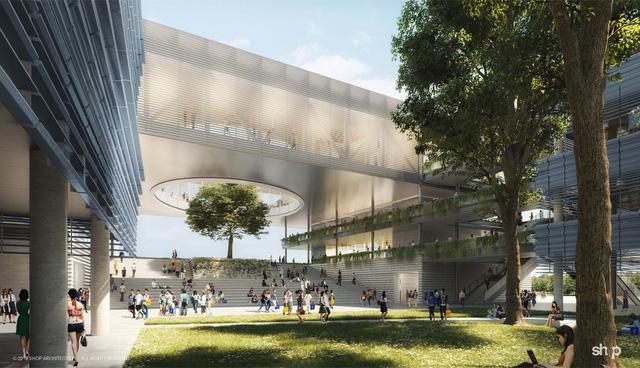 Công trình kiến trúc Đại học Fulbright Việt Nam được giới thiệu trên tạp chí Archdaily - Ảnh 1.