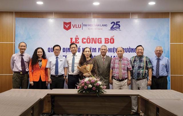 GS.TS. Trương Nguyện Thành quyết định chớp nhoáng nhận vị trí Phó Hiệu trưởng Đại học Văn Lang - Ảnh 1.