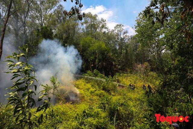 Vụ cháy rừng nghiêm trọng tại Hà Tĩnh: Đám cháy đã được khống chế hoàn toàn - Ảnh 3.
