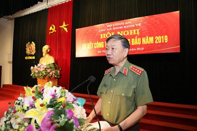 Bộ trưởng Tô Lâm: Lực lượng An ninh kinh tế cần khẩn trương rà soát toàn bộ các vấn đề nổi lên liên quan đến ngành - Ảnh 1.