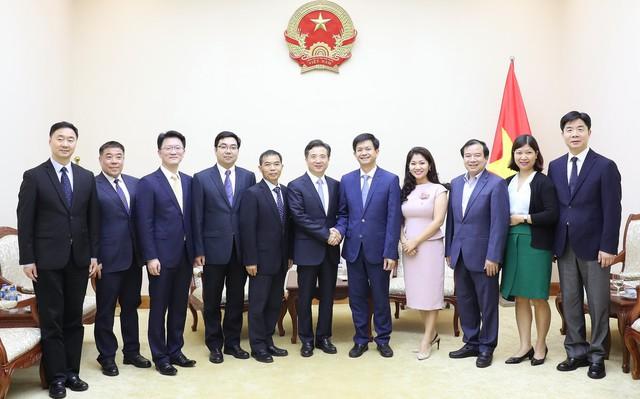 Thứ trưởng Lê Quang Tùng tiếp Bí thư Thành ủy Hàng Châu, Trung Quốc - Ảnh 1.