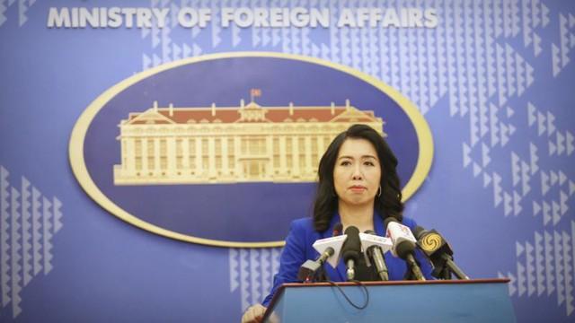 Việt Nam phản ứng về diễn tập Trung Quốc tại Biển Đông và vấn đề Mỹ áp thuế thép - Ảnh 1.