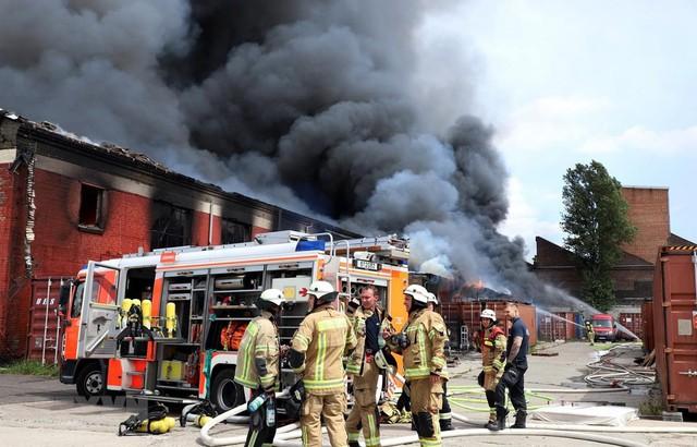 Cập nhật mới về vụ cháy Trung tâm thương mại Đồng Xuân của người Việt ở Berlin - Ảnh 1.