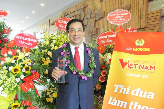 """Quang Hải là một trong số 12 cá nhân được tôn vinhtrong chương trình Vinh quang Việt Nam"""" năm 2019 - Ảnh 3."""