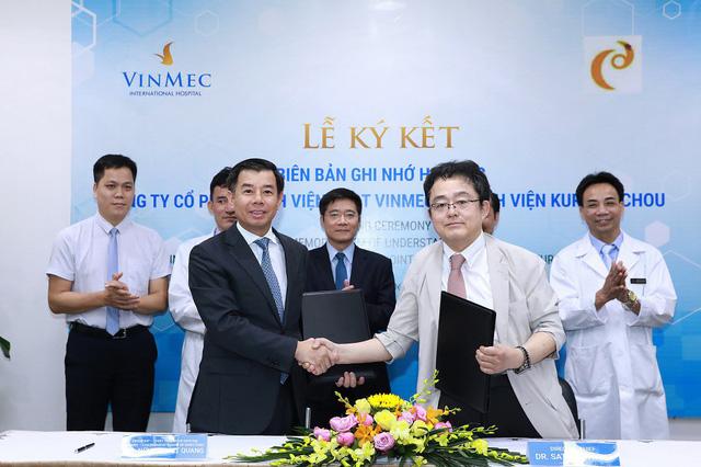 """Nhật Bản chuyển giao công nghệ điều trị ung thư gan """"Siêu chọn lọc System - I"""" cho Vinmec - Ảnh 1."""