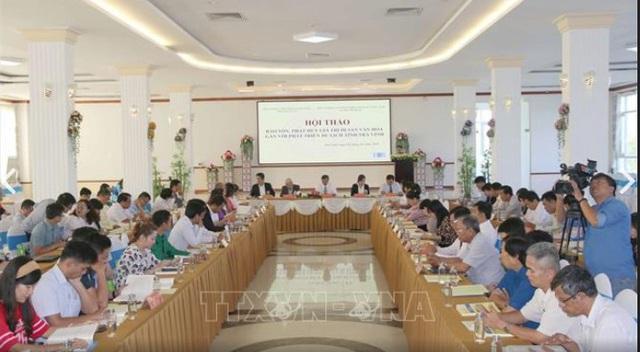 Bảo tồn, phát huy các giá trị di sản văn hoá gắn với phát triển du lịch tỉnh Trà Vinh - Ảnh 1.
