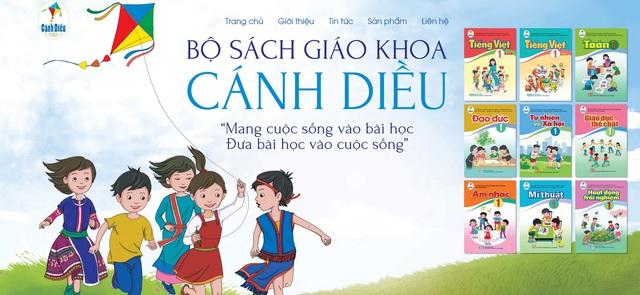 Giáo viên, phụ huynh được tham khảo miễn phí SGK Cánh Diều trên mạng Internet - Ảnh 1.