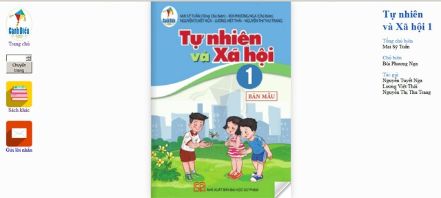 Giáo viên, phụ huynh được tham khảo miễn phí SGK Cánh Diều trên mạng Internet - Ảnh 3.