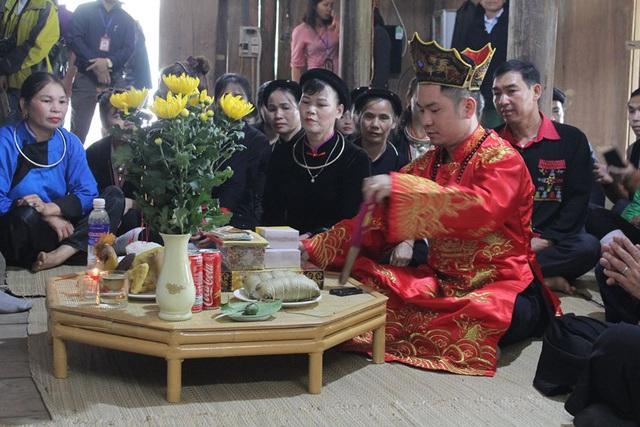 Tái hiện Lễ giải hạn đầu năm của dân tộc Tày, Nùng  - Ảnh 3.