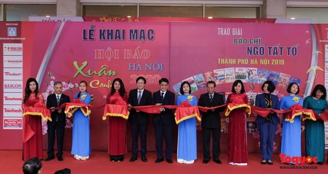 Khai mạc Hội báo xuân Canh Tý - Hà Nội 2020 - Ảnh 1.