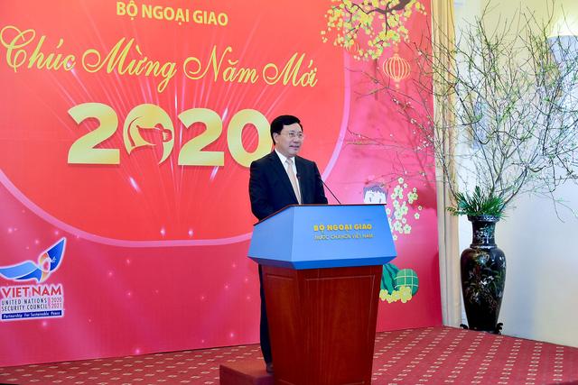 Bộ Ngoại giao gặp mặt các cơ quan báo chí nhân dịp năm mới 2020 - Ảnh 1.