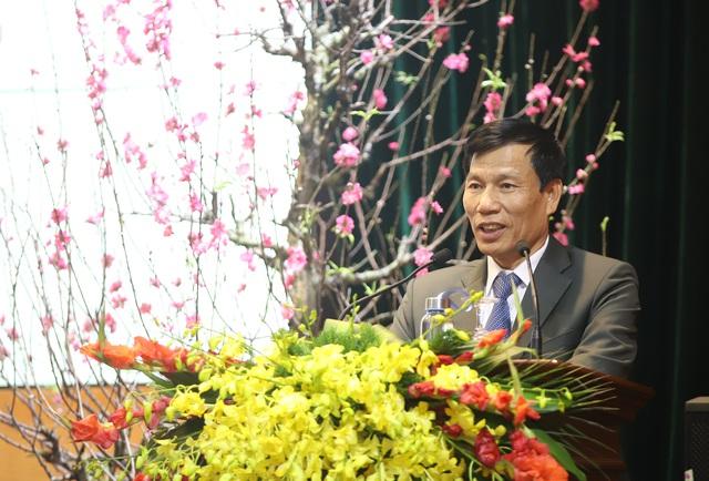 Bộ trưởng Nguyễn Ngọc Thiện gặp mặt các cán bộ hưu trí ngành VHTTDL - Ảnh 1.