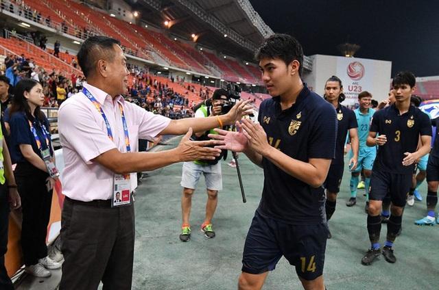 Giành vé vào tứ kết, U23 Thái Lan nhận thưởng khủng - Ảnh 1.