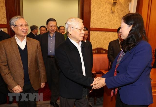 Hình ảnh Tổng Bí thư, Chủ tịch nước chủ trì phiên họp về phòng chống tham nhũng - Ảnh 2.