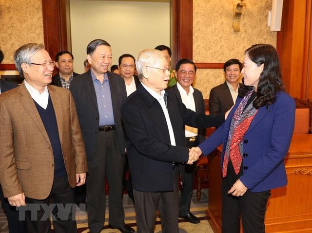 Hình ảnh Tổng Bí thư, Chủ tịch nước chủ trì phiên họp về phòng chống tham nhũng - Ảnh 3.