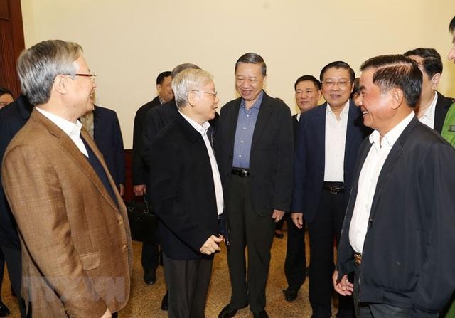 Hình ảnh Tổng Bí thư, Chủ tịch nước chủ trì phiên họp về phòng chống tham nhũng - Ảnh 4.