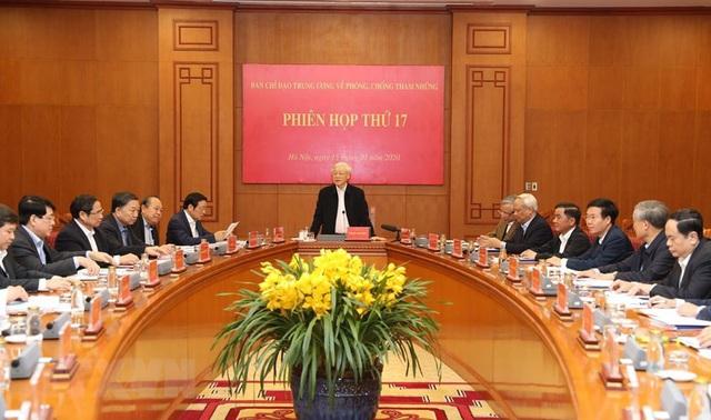 Hình ảnh Tổng Bí thư, Chủ tịch nước chủ trì phiên họp về phòng chống tham nhũng - Ảnh 6.