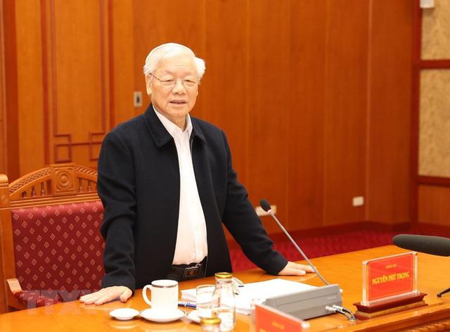 Hình ảnh Tổng Bí thư, Chủ tịch nước chủ trì phiên họp về phòng chống tham nhũng - Ảnh 7.