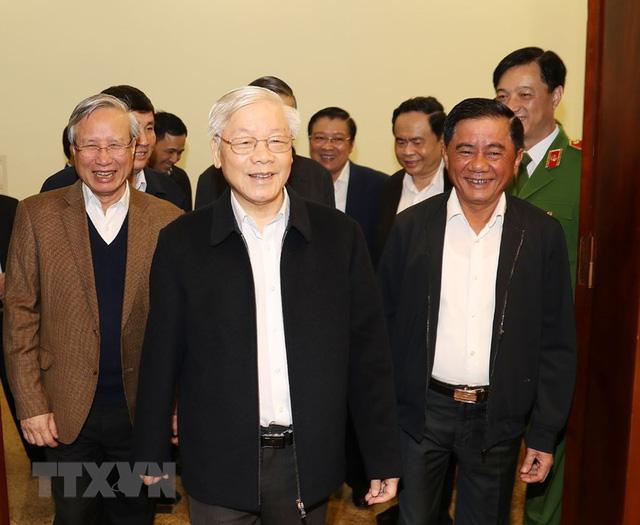 Hình ảnh Tổng Bí thư, Chủ tịch nước chủ trì phiên họp về phòng chống tham nhũng - Ảnh 1.