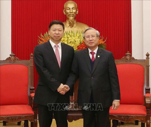 Thường trực Ban Bí thư: Phát triển quan hệ hữu nghị truyền thống Việt Nam-Trung Quốc là đòi hỏi tất yếu, phù hợp với nguyện vọng của nhân dân hai nước - Ảnh 1.