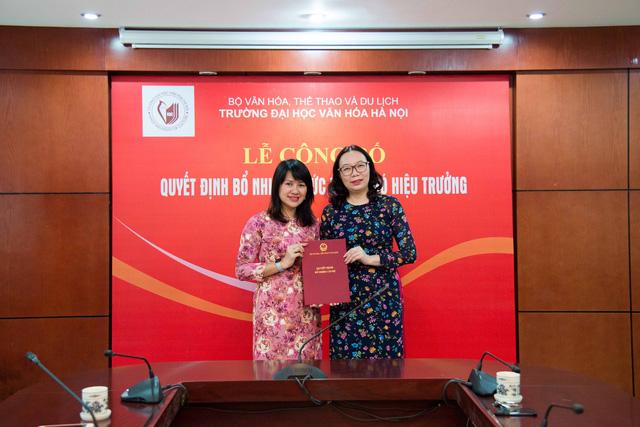Bổ nhiệm Phó Hiệu trưởng Trường Đại học Văn hóa Hà Nội - Ảnh 1.