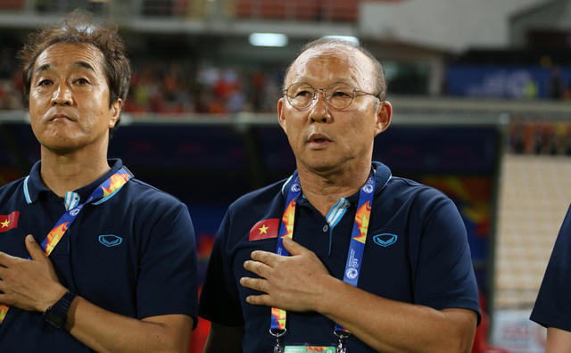 HLV Park Hang-seo nhận toàn bộ trách nhiệm sau khi U23 Việt Nam dừng bước - Ảnh 1.