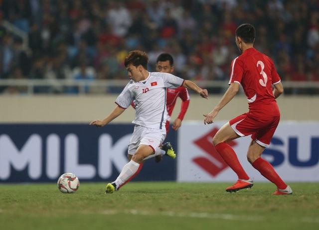 [Trực tiếp] U23 Việt Nam vs U23 CHDCND Triều Tiên: Thắng để bước tiếp - Ảnh 1.