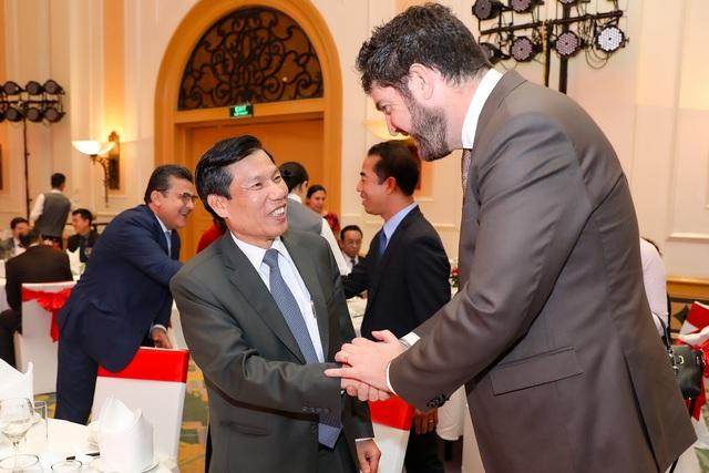 Bộ trưởng Nguyễn Ngọc Thiện tiếp các Đại sứ nước ngoài tại Việt Nam nhân dịp Tết Canh Tý 2020 - Ảnh 4.