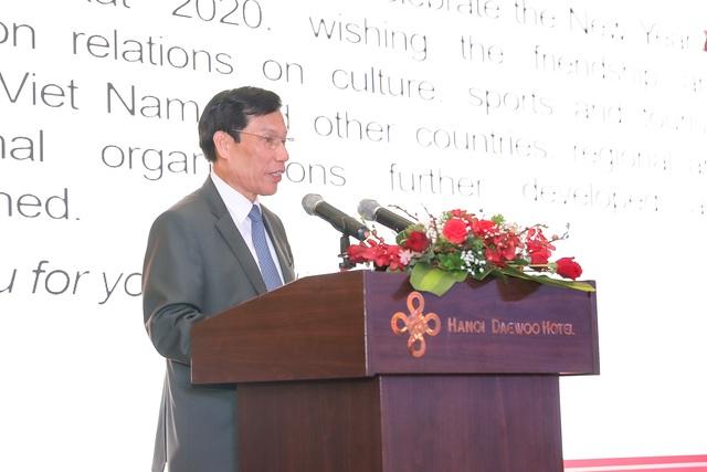 Bộ trưởng Nguyễn Ngọc Thiện tiếp các Đại sứ nước ngoài tại Việt Nam nhân dịp Tết Canh Tý 2020 - Ảnh 6.