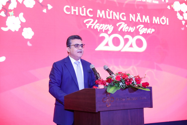 Bộ trưởng Nguyễn Ngọc Thiện tiếp các Đại sứ nước ngoài tại Việt Nam nhân dịp Tết Canh Tý 2020 - Ảnh 7.