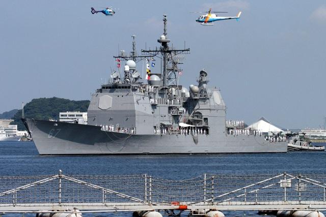 """Trung Quốc """"phản ứng gắt"""" tàu chiến Mỹ đi qua eo biển Đài Loan - Ảnh 1."""