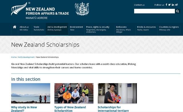 New Zealand Scholarships cấp 30 suất học bổng toàn phần sau đại học  - Ảnh 1.