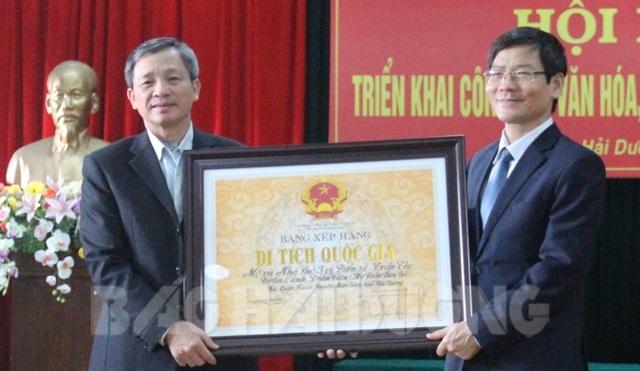 Hải Dương: Thêm một di tích được xếp hạng cấp quốc gia - Ảnh 1.