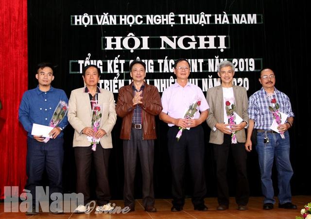 Hội Văn học Nghệ thuật Hà Nam triển khai công tác năm 2020 - Ảnh 1.