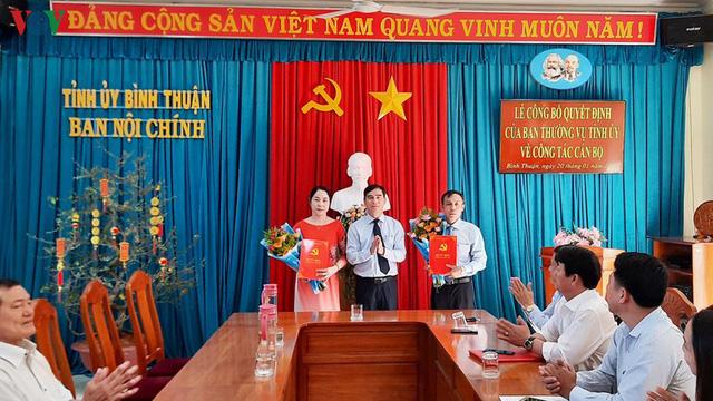 Nhân sự mới Hà Nội, Thành phố Hồ Chí Minh, Bình Thuận - Ảnh 4.