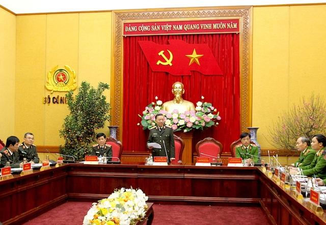 Bộ trưởng Tô Lâm: Thực hiện nghiêm cao điểm tấn công trấn áp tội phạm trong dịp Tết - Ảnh 1.