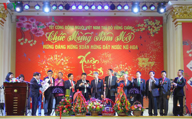 Cộng đồng Kiều bào tại Lào, Đức và Trung Quốc tưng bừng tổ chức Tết cộng đồng chào mừng Xuân Canh Tý - Ảnh 1.