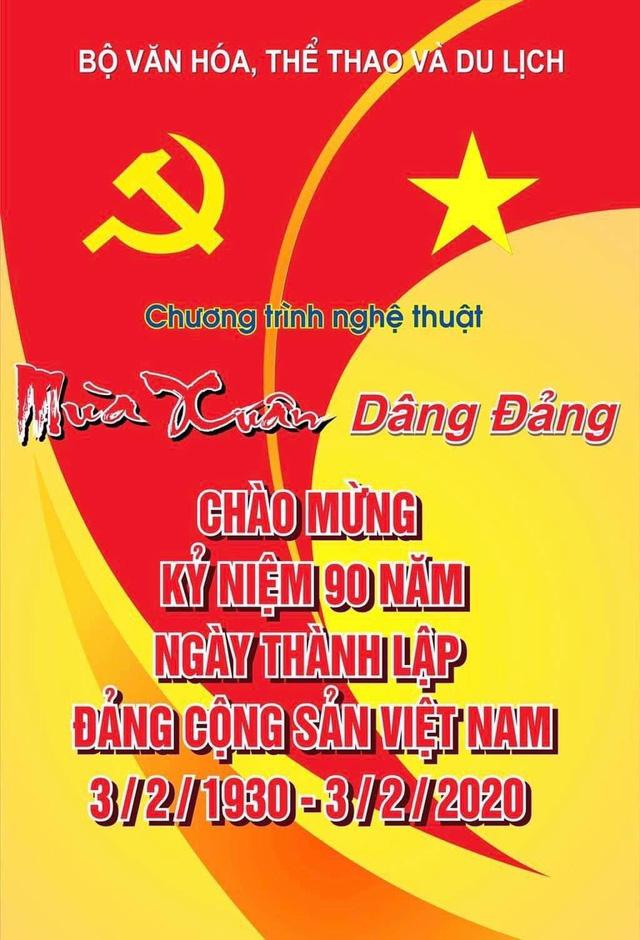 """Tổ chức chương trình nghệ thuật đặc biệt """"Mùa xuân dâng Đảng"""" chào mừng Kỷ niệm 90 năm Ngày thành lập Đảng Cộng sản Việt Nam - Ảnh 1."""