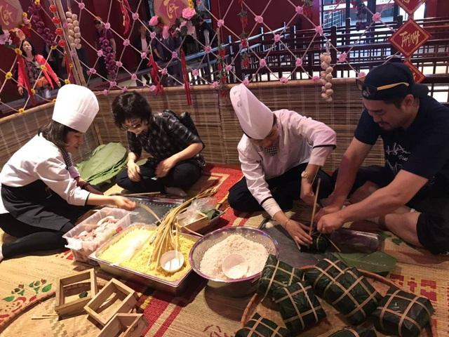 Thưởng thức hương vị Tết xưa tại Sun World Halong Complex - Ảnh 1.