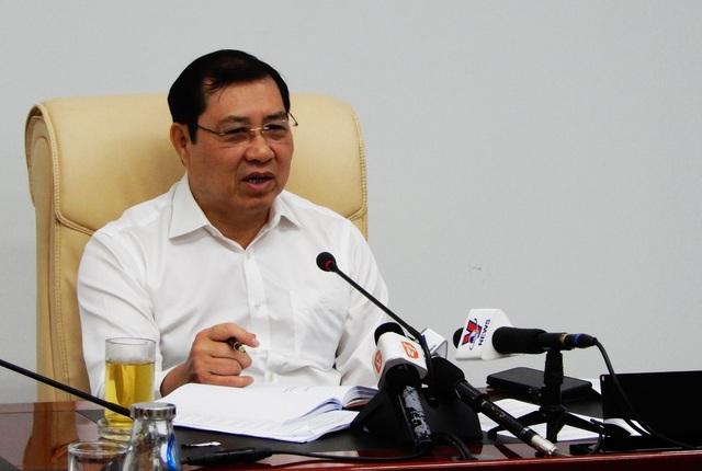 Ông Huỳnh Đức Thơ, Chủ tịch UBND TP Đà Nẵng.