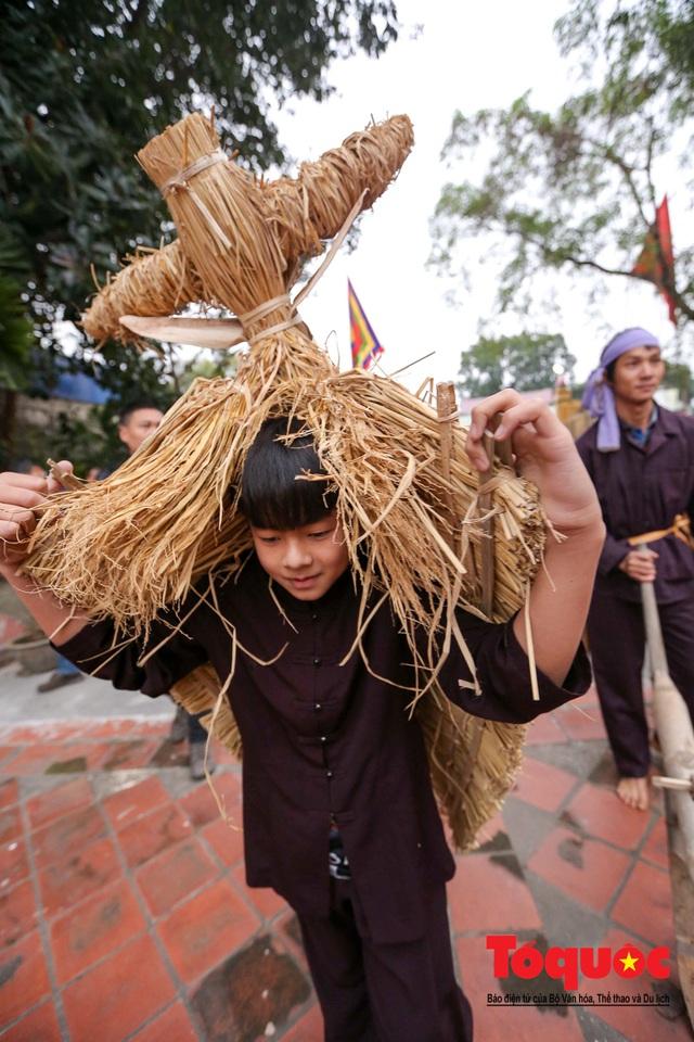 Lạ kỳ lễ hội trâu rơm, bò rạ ở đồng bằng sông Hồng - Ảnh 20.