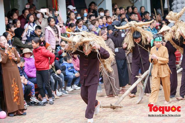 Lạ kỳ lễ hội trâu rơm, bò rạ ở đồng bằng sông Hồng - Ảnh 12.