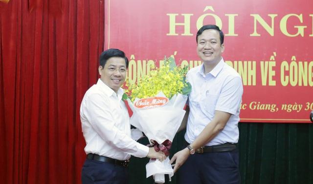 Nhân sự mới tại Phú Yên, Bắc Giang - Ảnh 2.